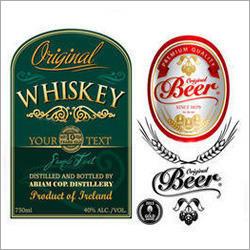 Alcoholic Beverages Labels