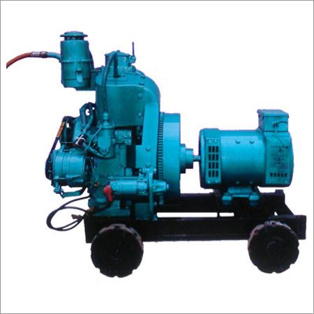 Medium Weight Trolly Biogas Power Generator
