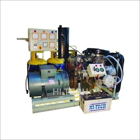 LPG Operated Power Generator