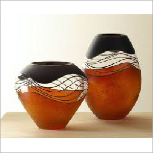 Vases – Metal And Glass