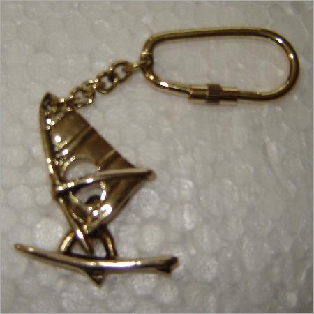 Antique Metal Key Chain