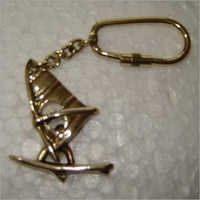 Antique Metal Key Chain