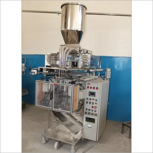 4 Track Pouch Packaging Machine for Liquid Products