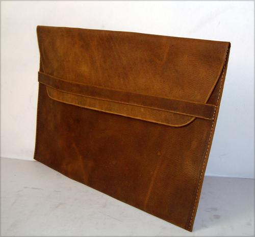 Leather Mac Sleeve