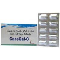 Calcitriol, Calcium Carbonate, Zinc Sulphate Capsule