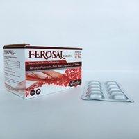 Ferrous Ascorbate, Folic Acid, Vitamin B12, B6 & Zinc Tablets