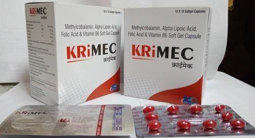 Methylcobalamin, Alpha Lipoic, B6, Folic acid capsules