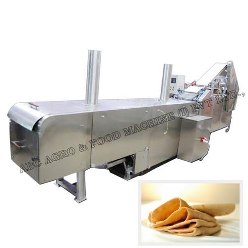 Fully Baked Chapati Making Machine