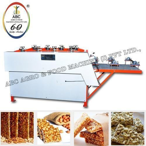 Chikki Rooling & Cutting Machine