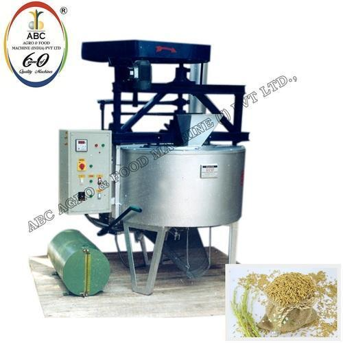 Sandless Paddy Roaster Machine