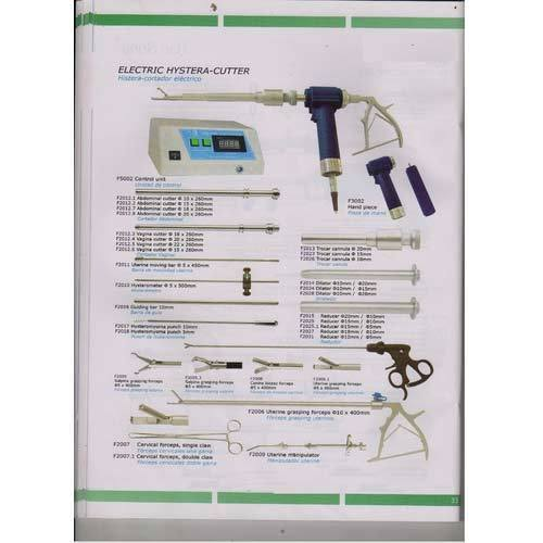 Gyaenocolgy Hysteroscope and Morcellator Set