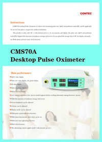 CMS 70 A Tabletop Pulse Oximeter