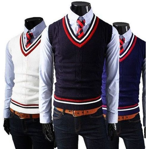 Boys School Uniform Sweaters