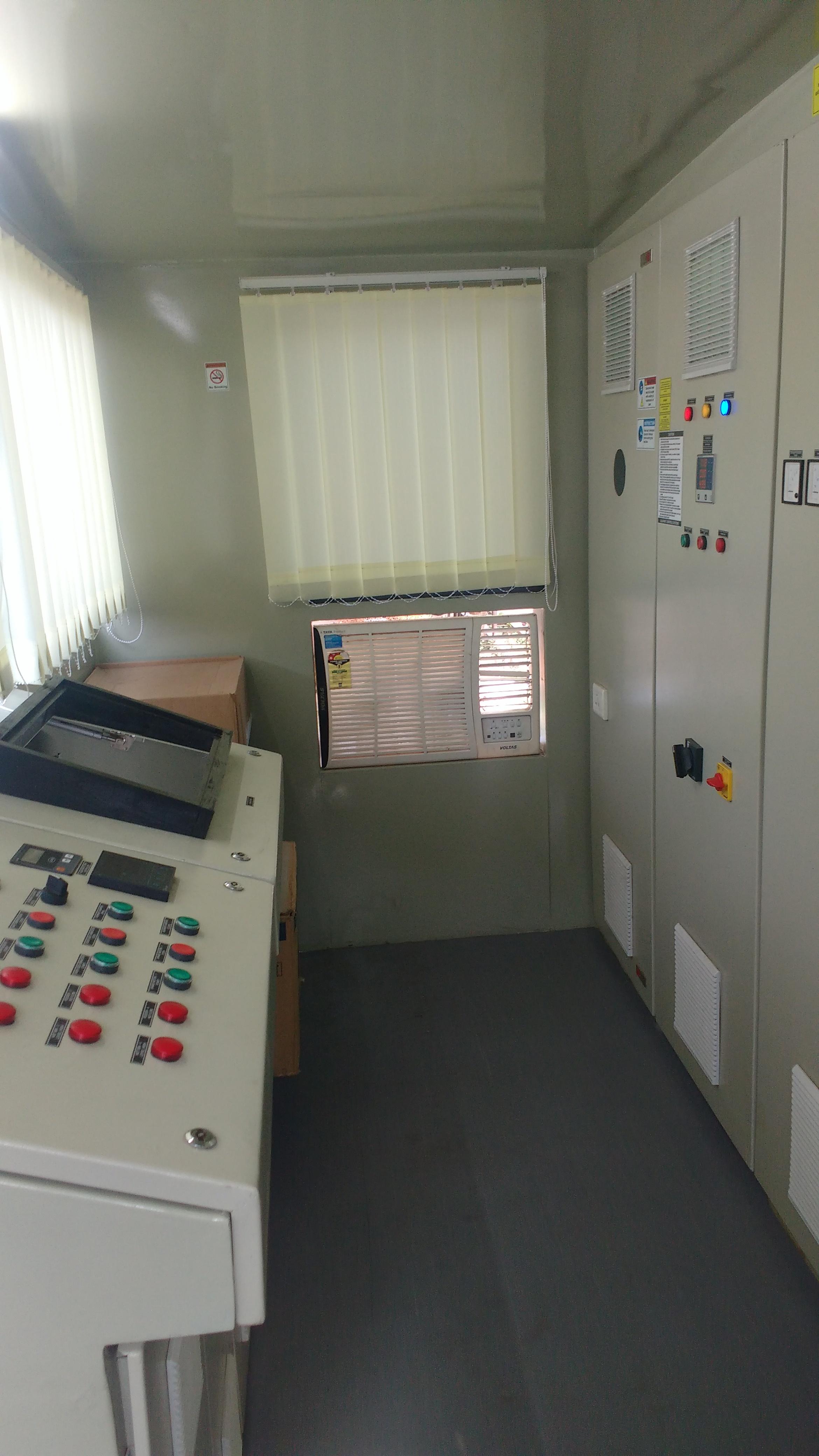 Batch Mix Plant Control Panel