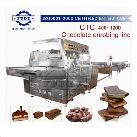 CTC600 Enrobing line