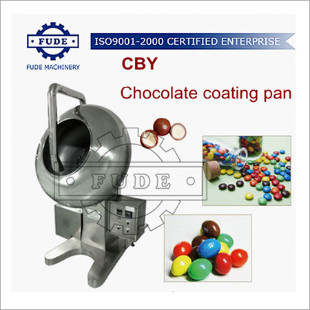 CBY600 Chocolate coating pan