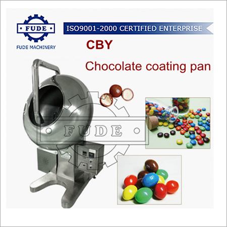 CBY1000 Chocolate coating pan