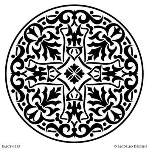 Any Color Stencil Designs