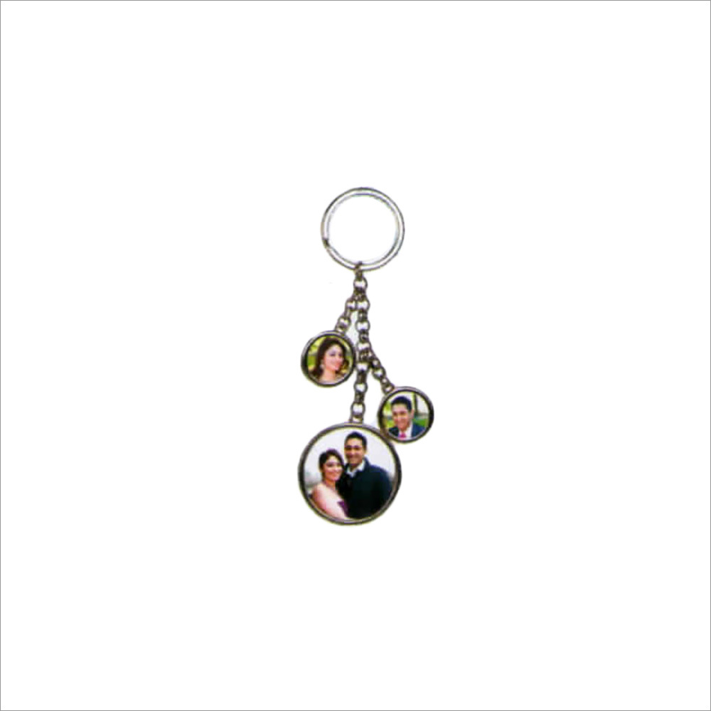 3 Photo Key Chain