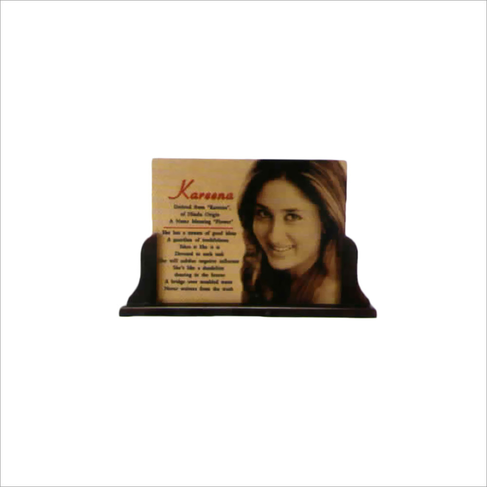 Gold Metal photo Frame With Stand