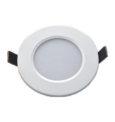 LED Backlit Panel 12W Round