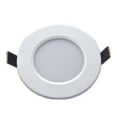 LED Backlit Panel 3W Round