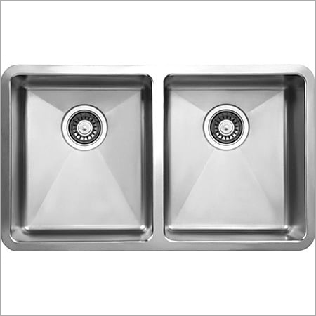Stainless Steel Double Bowl Kitchen Sink