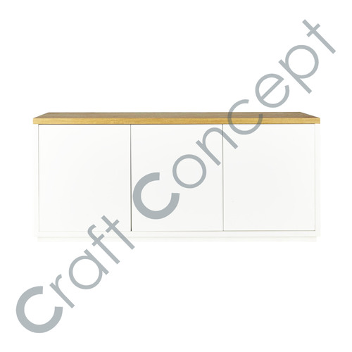 SOLID WHITE WOOD BUFFET