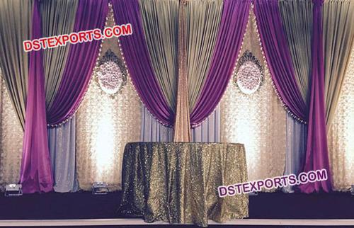 Wedding Stage Elegant Backdrop