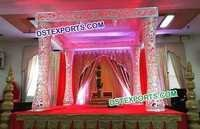 Indian Wedding Ceremony Mandap
