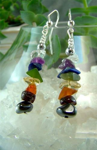 7 Chakras Beaded Earrings