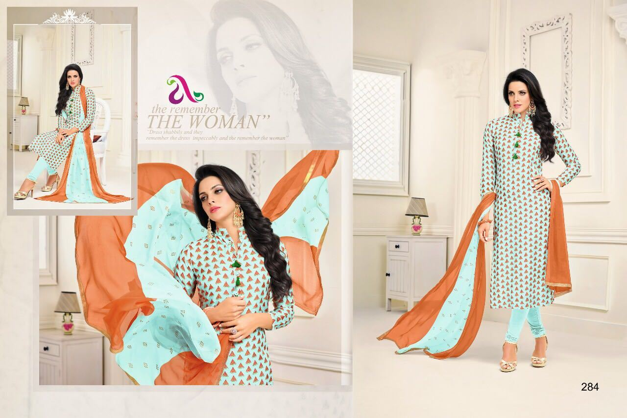 Chanderi Cotton Salwar Suit