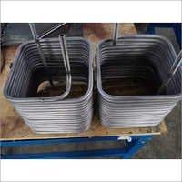 Titanium Squre Coil Tube