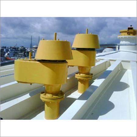 Pressure Vessels Tank Breather Valves