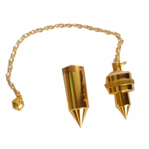 Double Brass Dowsing Pendulum