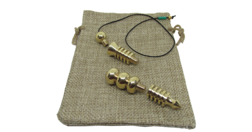 Supreme long Brass Dowsing Pendulum For Reiki