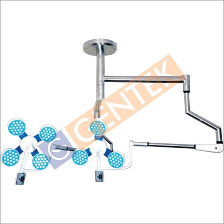LED OT Light Ceiling Double Dome 4+3 Reflector