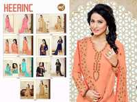 Faux Georgette Salwar Suit