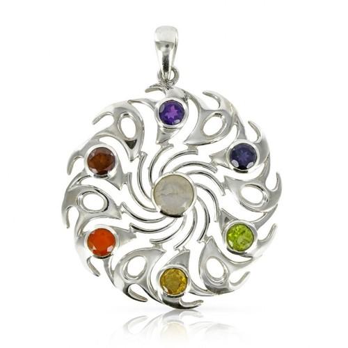 Chakra Vortex Necklace Pendant