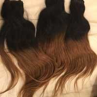 HUMAN HAIR EXTENSIONS half color
