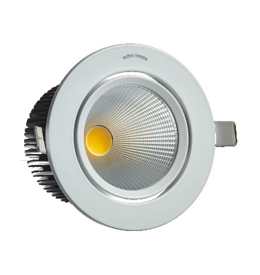 COB Downlighter 10W Round