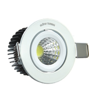 COB Downlighter 3W Round