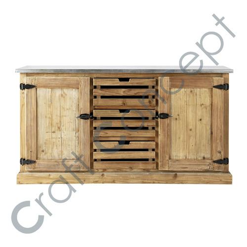 Reclaim Pine Wood Side Board