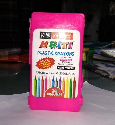Kriti Plastic Crayons
