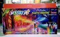 25 Shades Plastic Crayons