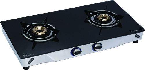 LPG GAS STOVE 2 BURNER (GLASS)