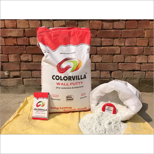 White Cement Polymer Wall Putty