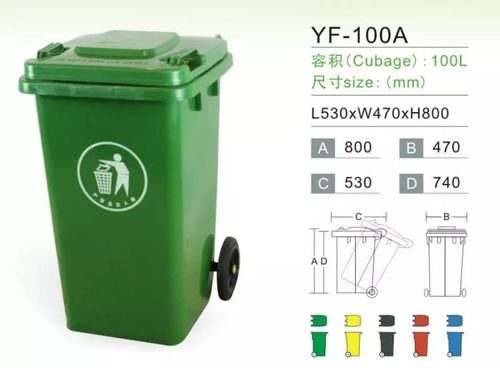 100 Litre Wheel Bin without Pedal
