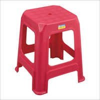 Stackable Square Plastic Stool