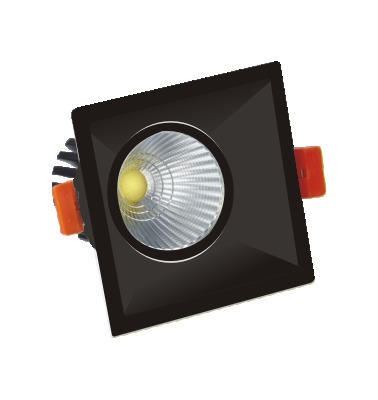 COB Designer Downlighter 10W Black